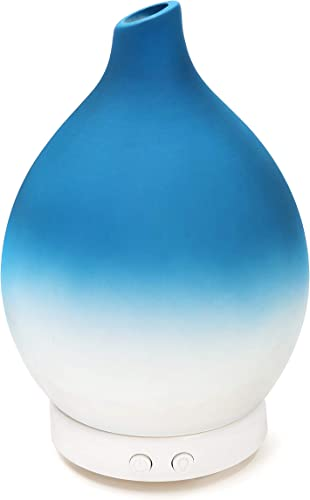 2021 Design wholesale Accents Essential Oil Diffuser - Ceramic Shell Home Decor Diffuser for Essential Oil 100ml, outlet online sale Blue online sale