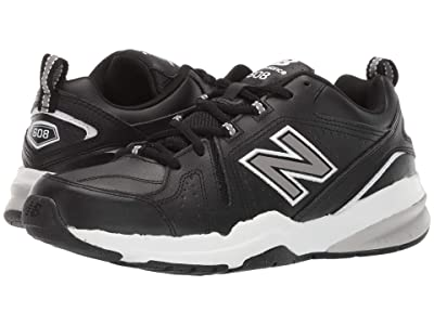 New Balance 608v5 (Black/White) Men