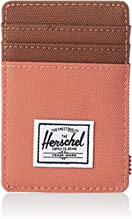Herschel Raven Unisex Wallet, Apricot Brandy/Saddle Brown