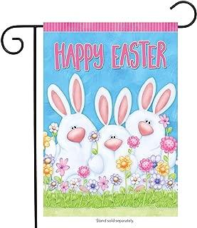 MZYARD Happy Easter Easter Bunny Outdoor Garden Flag 12.5