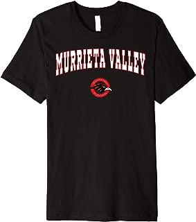 Murrieta Valley High School Nighthawks Premium T-Shirt C2