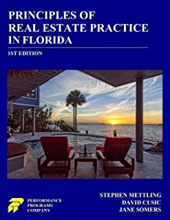 Principles of Real Estate Practice in Florida: 1st Edition