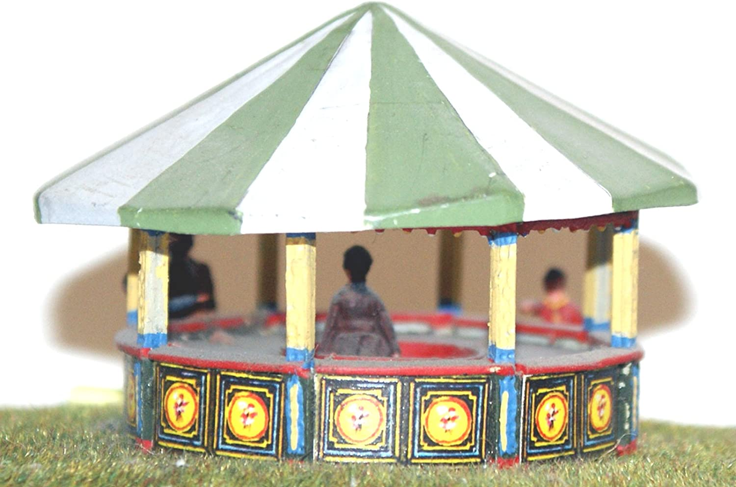 Langley Models RollaPenny Round stall OO Scale 1 76 UNPAINTED Funfair Fairground Kit Q16