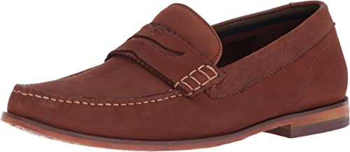 Ted Baker Men's Miicke 5 Loafer, Dark Tan, 7.5 D(M) US