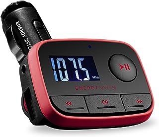 comprar comparacion Energy Sistem Car F2 Racing Red - Reproductor MP3 para coche con transmisor FM (Fm-T, lector tarjetas MicroSD, USB-Host, L...