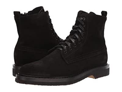 Aquatalia Bryson (Black Suede) Men