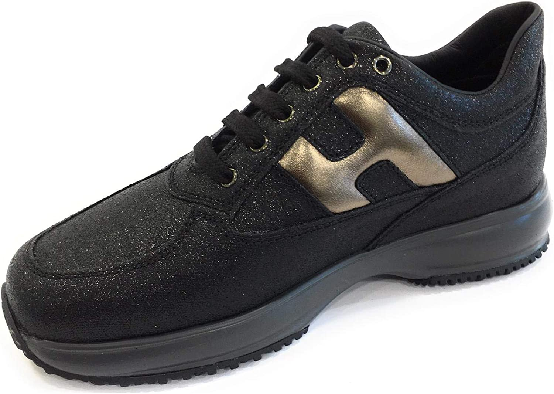 Hogan Interactive Bambina HXC00N00243FTI Nero Sneaker Inverno ...