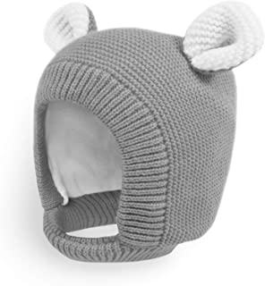 baby winter hat with chin strap