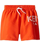 Kenzo Kids - Logo Swim Shorts (Little Kids)