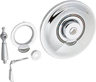 Allura Tub and Shower with Lever Handle Finish: Chrome