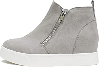Taylor Slip on Hidden Wedge Booties Fashion Sneaker Shoes...