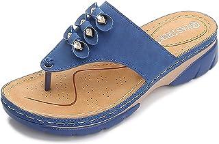 Teenslippers voor dames, badschoenen met Srass slippers, badschoenen, flipflops, surfen, strand, zwembad, sandalen, licht,...