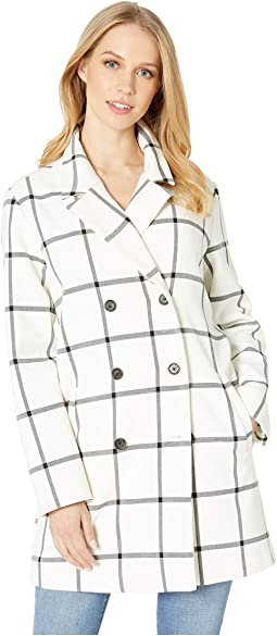 Aletta Plaid Coat