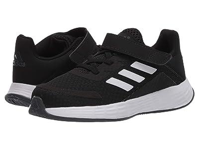 adidas Kids Duramo SL (Infant/Toddler) (Core Black/Footwear White/Grey Six) Boys Shoes