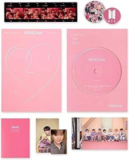 BTS Album - MAP OF SOUL : PERSONA [ 2 Ver. ] CD + Photobook + Mini Book + Photocard + Postcard + Photo Film + FREE GIFT