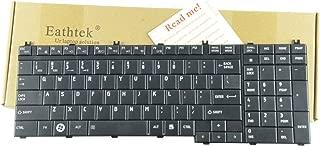 Eathtek Relacement Laptop Keyboard for Toshiba Satellite L355-S7831 L355-S7915 L355-S7905 L355D-S7815 series Black US Layout
