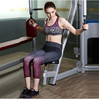 Fitness Running Tight High Waist Stretch Seven Digital Printing Sexy Goddess Suitable for Women Yoga Pants Casual Style