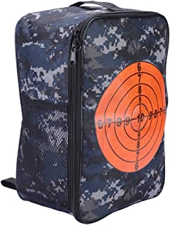 FTVOGUE Bolso Multifuncional de Almacenamiento en Balas para niños Target Pouch Backpack Case para Nerf