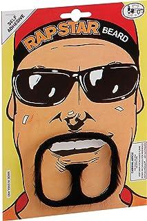 dca1c92fe963 Men Adults Fancy Dress Halloween Party Gangster Rap Star Ali G Style Fake  Beard