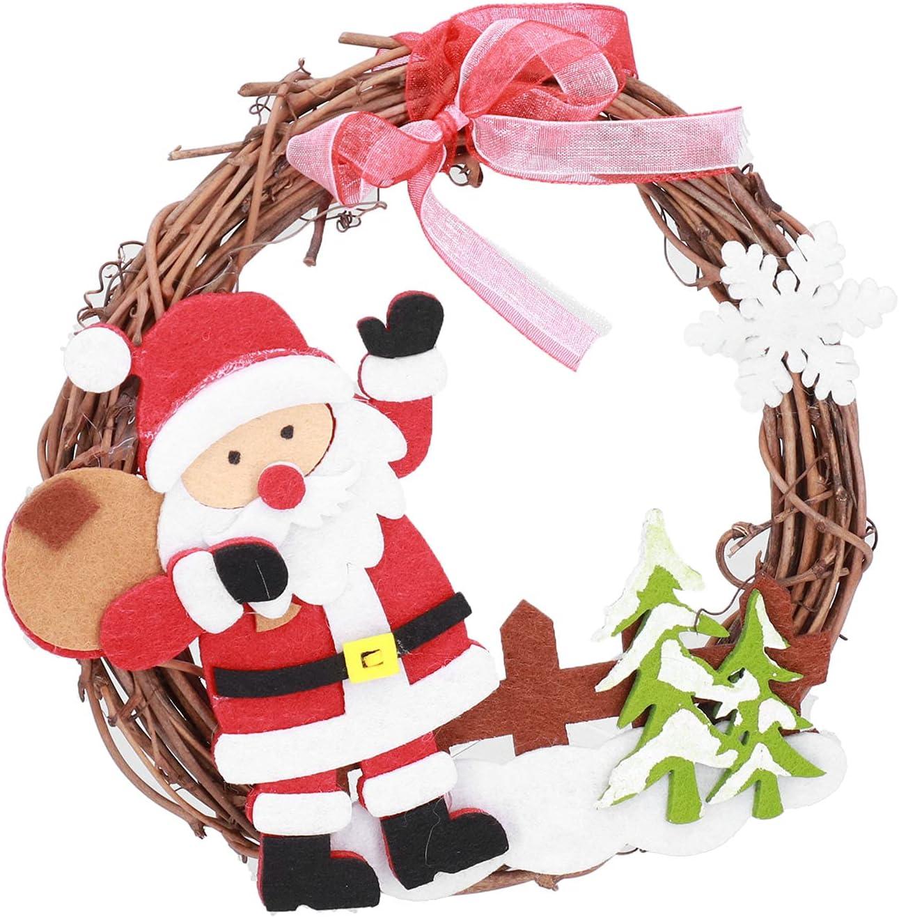 LIKJ Ranking TOP1 Christmas Ornament Beautiful Wreath Door Gir Detroit Mall for