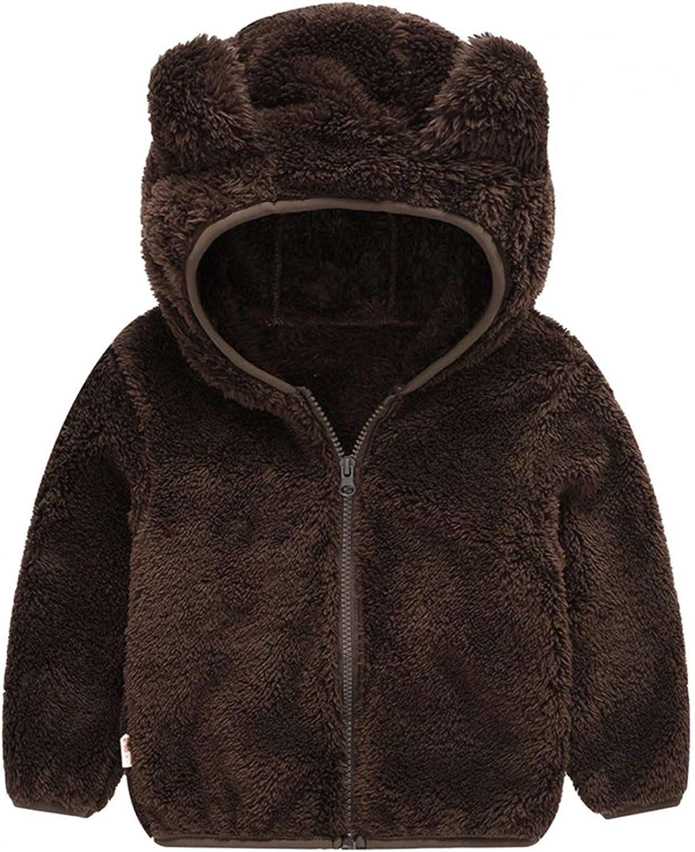 Toddler Hooded Inexpensive Jacket Girl Boy Winter Sweatshirt Outwea Top Warm Sales results No. 1