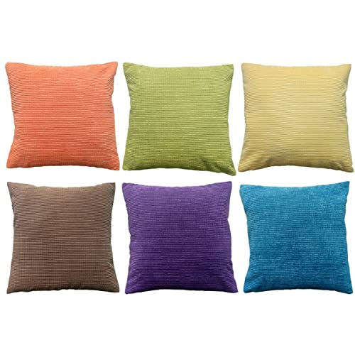 Colorful Throw Pillows for Couch: Amazon.com
