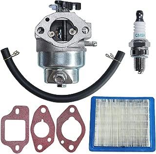 AUMEL GCV160 Carburetor Carb with Air Filter Fuel Line Spark Plug Kit for Honda GCV160A GCV160LA GCV160LAO GCV160LE HRB216 HRS216 HRR216 HRT216 HRZ216 Replaces 16100-Z0L-023.