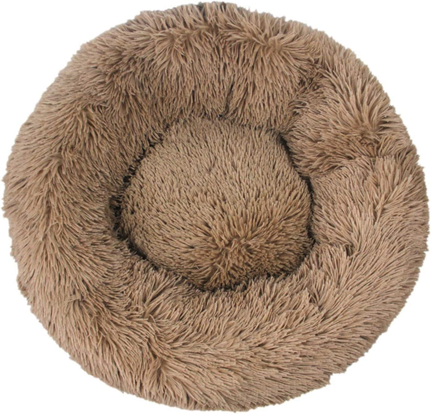 Manufacturer OFFicial shop Surprise price Pet Dog Bed Comfortable Donut Sof Kennel Ultra Cuddler Round