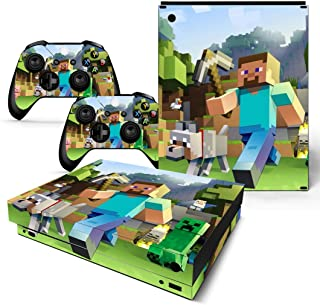 xbox one s minecraft decal