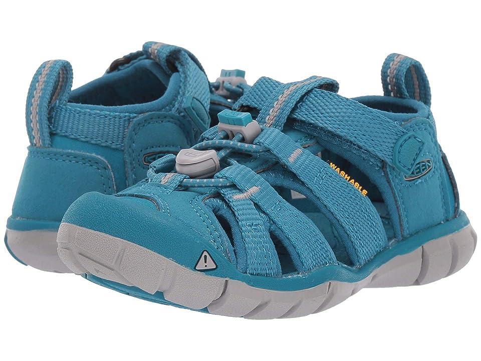 Keen Kids Seacamp II CNX (Toddler/Little Kid) (Tahitian Tide) Girls Shoes