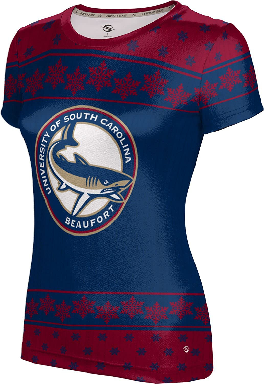 University of South Carolina Beaufort Ugly Holiday Girls' Performance T-Shirt (Snowflake)