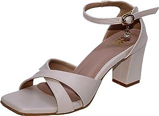 W-Liberty Women's Comfortable & Fashionable Artificial Heels (Cream)