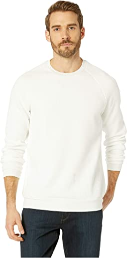 Long Sleeve Blocked Texture Sweatshirt
