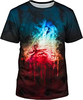 Unisex 3D Realistic Printed Casual Short Sleeve T-Shirts