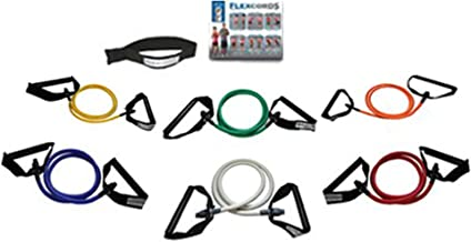 Flexcords - Resistance Bands Set - Oefening Bands - Home Gym Fitness Equipment - Workout Bands - Oefening apparatuur