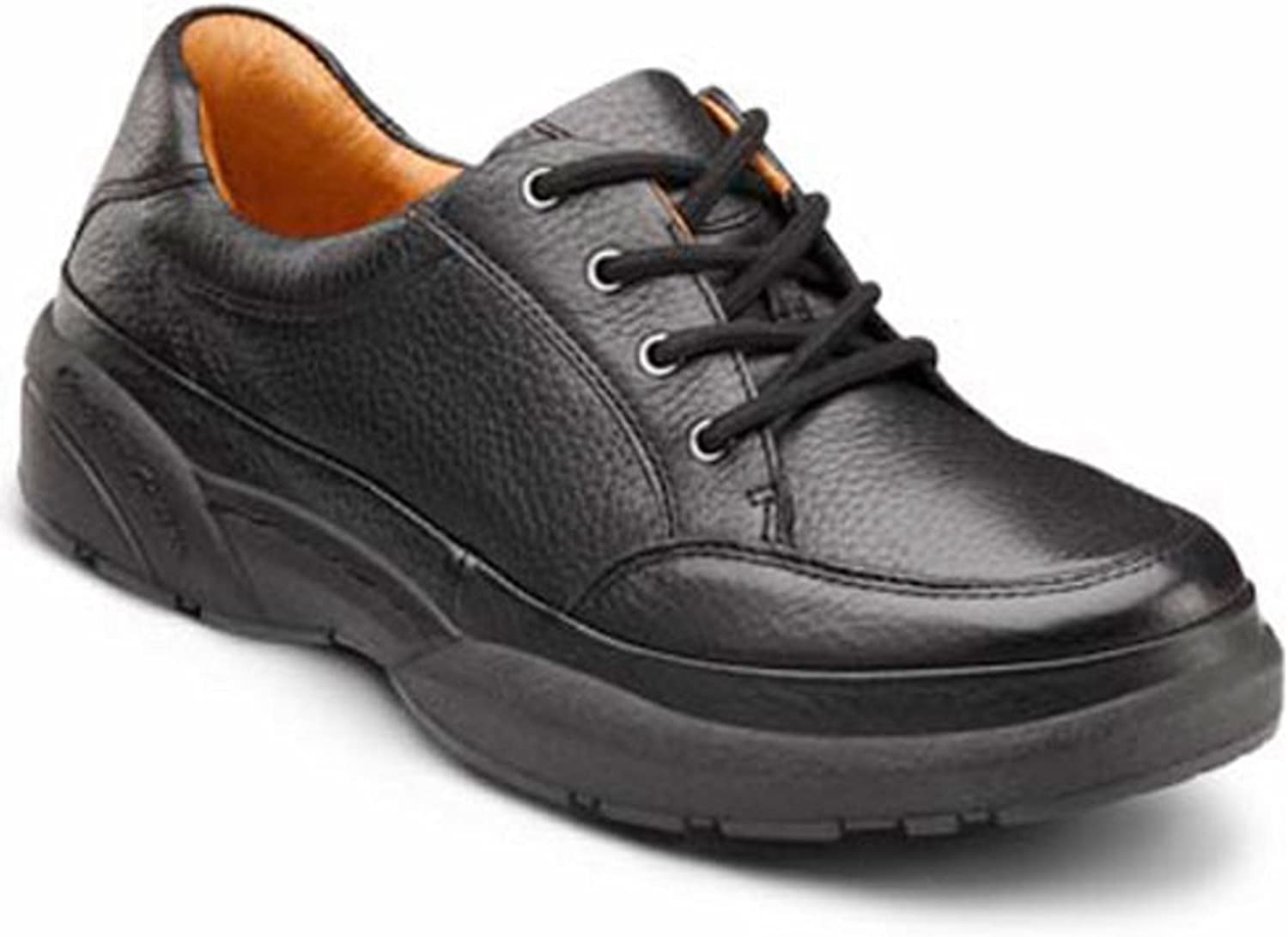 Dr. Comfort Justin Men's Therapeutic Diabetic Extra Depth shoes Leather Lace