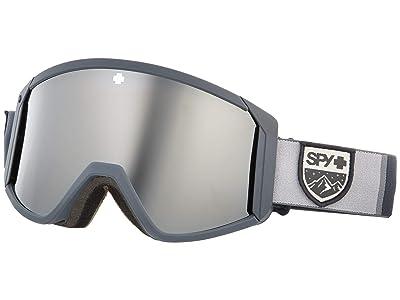 Spy Optic Raider (Colorblock Gray Hd Bronze w/ Silver Spectra Mirror + Hd Ll Per) Snow Goggles