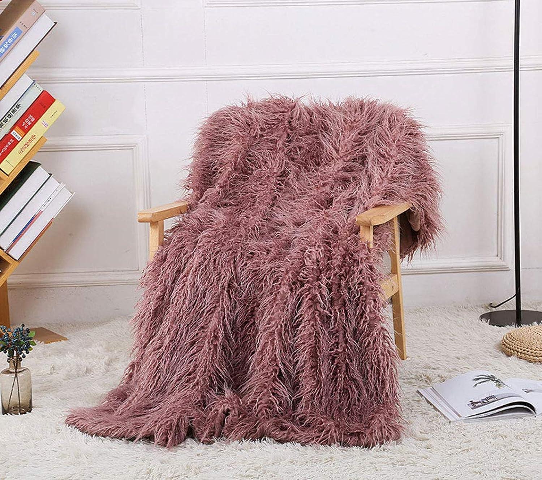 WSI Couverture, Edition Spéciale Sherpa Fleece Snug Rug Throw, Couverture de Laine Bed and Couch voyage 130  160cm   La Lavande