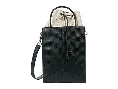 Lacoste Chantaco Knot Drawstring Crossbody Bag