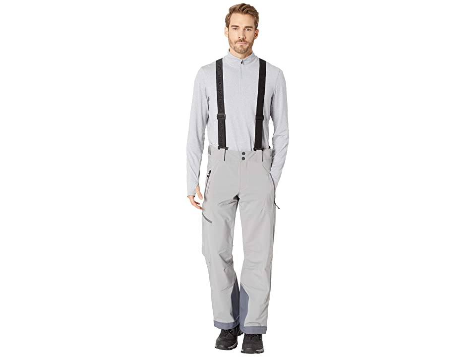 Obermeyer Force Suspender Pants (Zinc Grey) Men