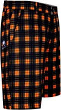 orange plaid golf shorts