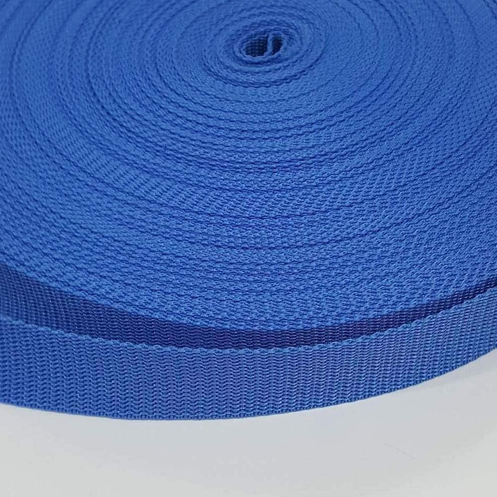 4m 25mm Polypropylene Webbing 5m or 10 metres - 2m 3m 1 metre Blue 1m