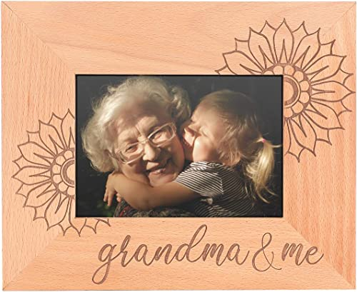 wholesale GSM outlet sale Brands lowest Grandma and Me Wooden Picture Frame (Holds 5 x 7 Inch Photo) (9 x 11 Inch Overall Size) outlet sale