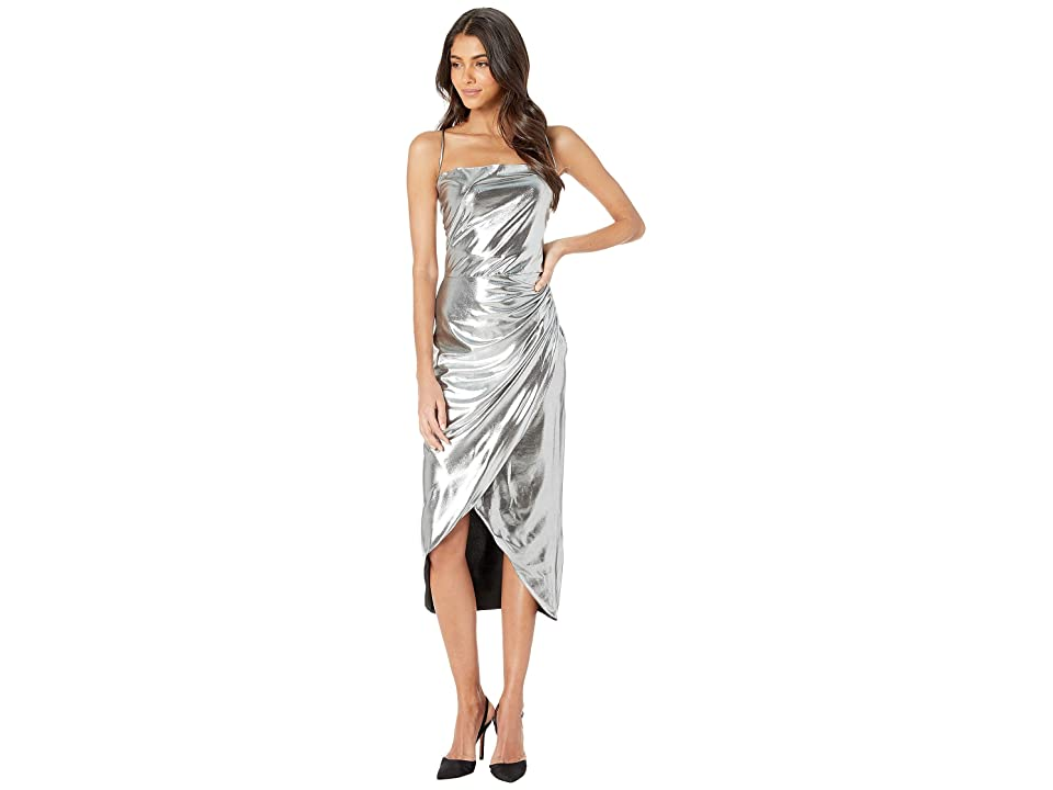 Bardot Runaway Dress (Silver) Women