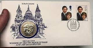 1981 unknown 1981 ROYAL WEDDING Prince Charles & Princess Dian coin Good
