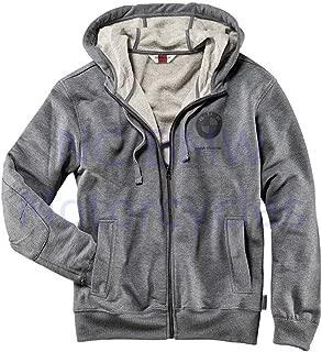 BMW Genuine Logo Sweatshirt-Style Unisex Jacket Grey M Medium