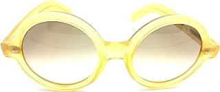 Cutler and Gross M0983 honey Round Sunglasses