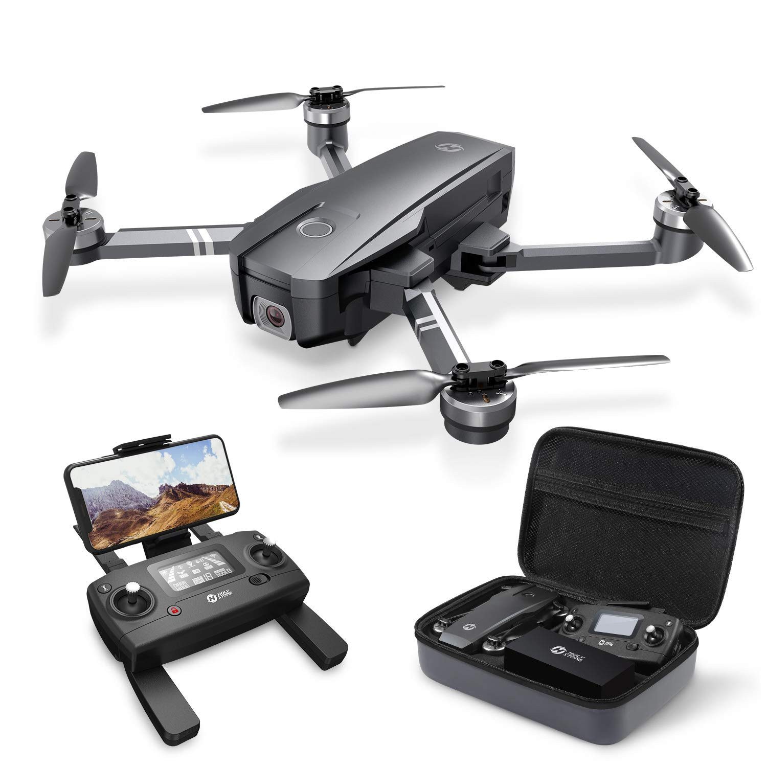 Holy Stone Foldable Quadcopter Brushless