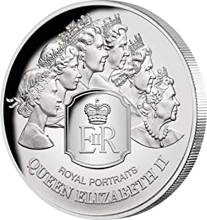 2020 TK Modern Commemorative PowerCoin ROYAL PORTRAITS Queen Elizabeth II 1 Oz Silver Coin 5$ Tokelau 2020 Proof