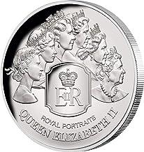 2020 TK Modern Commemorative PowerCoin ROYAL PORTRAITS Queen Elizabeth II 1 Oz Silver Coin 5$ Tokelau 2020 Proof